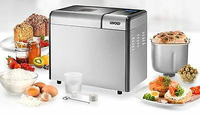 Unold 68415 Automatic Bread Maker Machine Top Edition FREE UK ADAPTER INCLUDED