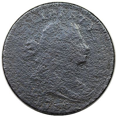 1796 Draped Bust Large Cent, Reverse of '97, S-115, R.3, G+ detail