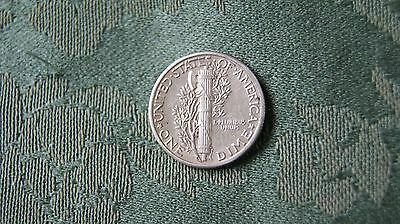 Usa 1 Dime Coin. Dated 1942 Ef Grade.0.900 Silver