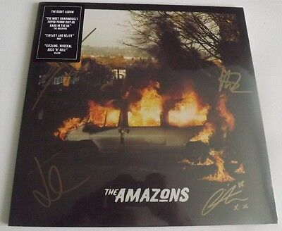 The Amazons Signed Clear Vinyl Lp Album Sealed