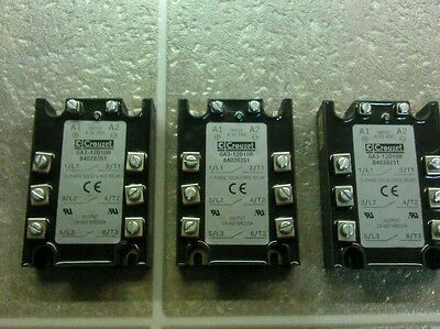 CROUZET GA312D10R CROUZET 84028251 3 Phase Solid State Relay