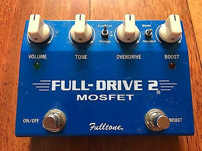 Fulltone Fulldrive 2 Mosfet Pedal - Handmade in the USA