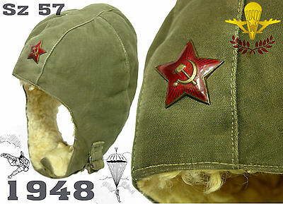 1948 RARE Original RKKA VDV Red ARMY Airborne Troops Paratroopers Jumping Cap