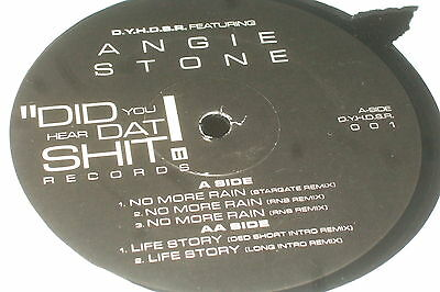 Angie Stone ‎– No More Rain / Life Story         R&B / SOUL...NEAR MINT!!