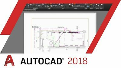 AUTODESK |  Autocad 2018 | 3 Years license | Win |  FAST DELIVERY ! ✔SALES