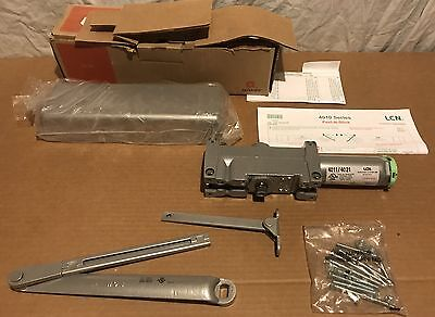 LCN 4011 Commercial Door Closer Brand New In Box Aluminum Finish Smoothee