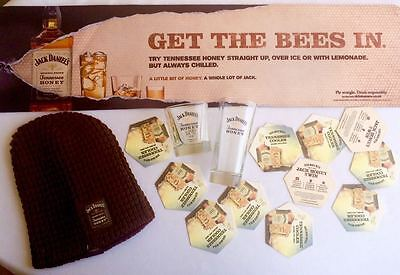Jack Daniel's Tennessee Honey Big Collection of Rare Items