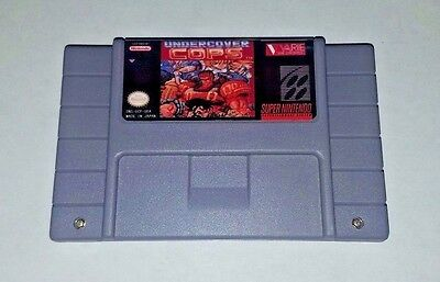 UNDERCOVER COPS - game For SNES Super Nintendo - Arcade style beat em up