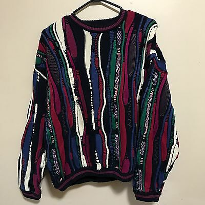 Vintage COOGI Inspired Multi-Color Knit Sweater