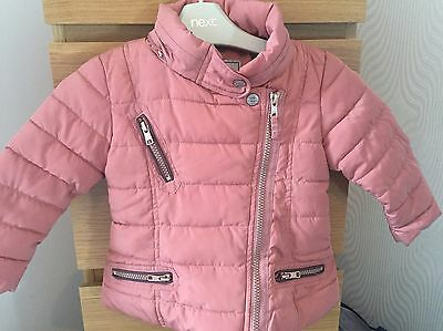 Baby Girls Next Coat 12-18 Months
