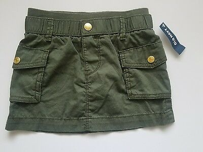 old navy nwt toddler girl cotton dark green skirt size 3 toddler