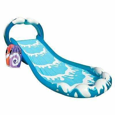 Childrens Kids Soak N Splash Aqua Garden Water Slide Spray Sprinker Pool Toy