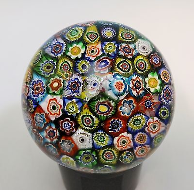 Highlight Murano antiker Magnum Millefiori Briefbeschwerer Paperweight
