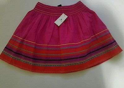 babyGap NWT Toddler Girl Stunning embroidered Cotton Spring Skirt Size 4 Years!