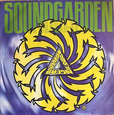 Soundgarden Badmotorfinger Lp Rare 1992 Brazil Original Pressing