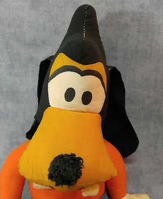 Vintage Old  Disney Goofy Rare Doll Cloth Plush Collection 16""