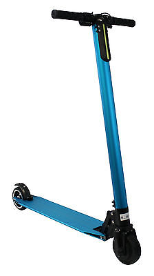 Kobe ALUMINUM Electric Kick Scooter BLUE Foldable E-Scooter, Free Shipping