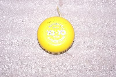 Vintage Wooden Sweden Yellow Authentic Pro Yo Yo