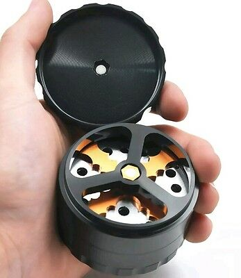 #1 Herb/Tobacco and Spice Grinder Stainless Steel Cutting Blade Jfamily Online