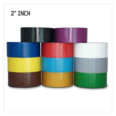 Vinyl Pinstriping Tape - 12 OSHA COLORS AVAILABLE: 2 INCH (48mm) x 108Ft 5MIL