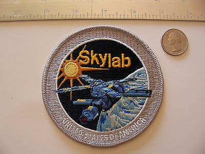 Rare Vintage/Original Skylab Program/Project Variant Lion Brothers Patch + Stamp