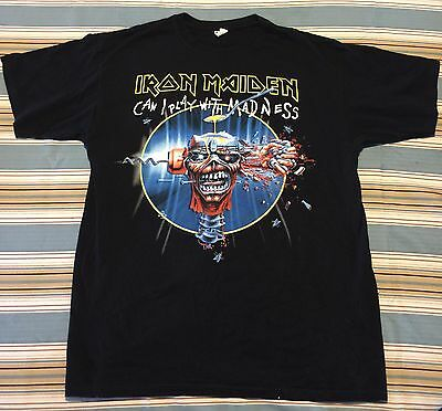 Iron Maiden North American Tour 2012 Large Concert T Shirt