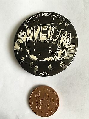 The NFT Presents Universal Pictures MCA Pin Badge (see pictures) Film Movie
