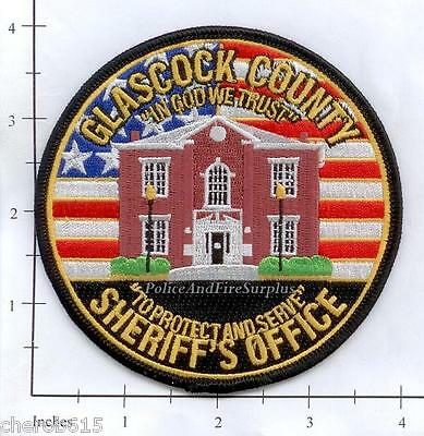 Georgia - Glascock County Sheriff's Office GA Police Dept Patch