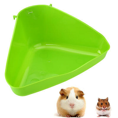 Pet Corner Toilet Litter Tray Box for Cat Mouse Rat Rabbit Hamster Small Animal
