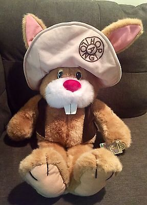 Vintage 1980's Applause Hop A Long Bunny Rabbit 22in Plush New With Tags!!! Huge