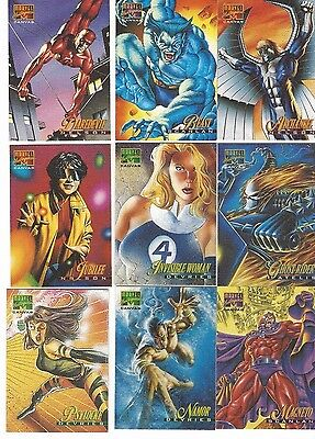 1995 Marvel Masterpieces Canvas Insert Pick One