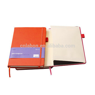 Top Quality Blank Diary Journal Notebook Leather Cover Assorted Colours A5 size