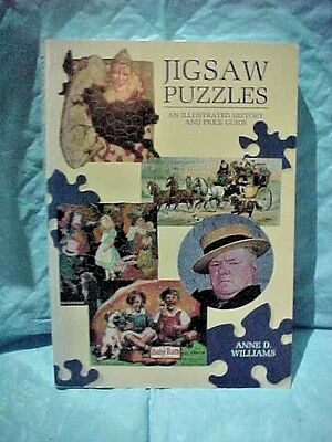 Jigsaw Puzzles, An Illustrated History and Price Guide by Anne D. Williams c1990