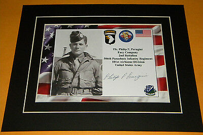 Band of Brothers Easy Company Pfc. Phillip Perugini Easy Company 101st Air Borne