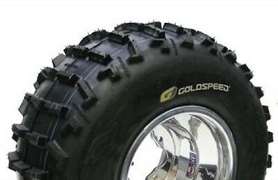 Goldspeed 21x10x9 Rear Sand Atv Tire 4ply Yellow Compound