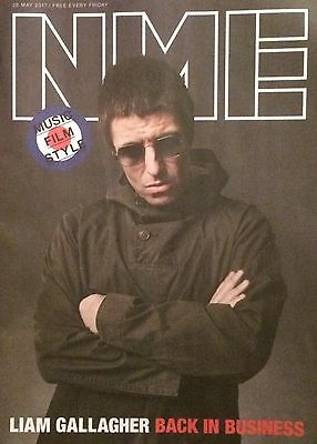 Liam Gallagher - Oasis Nme Cover Magazine - 2017