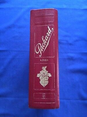 Packard. A History Of The Motorcar And The Company - First Edition
