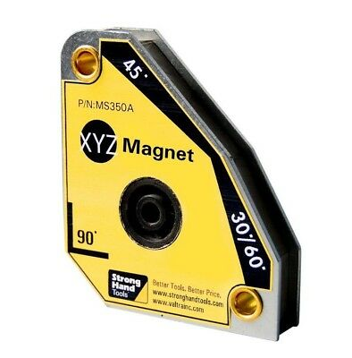 Strong Hand Tools, XYZ MS350 Multi Angle Welding Magnet Squares 30°,60°,45°,90°