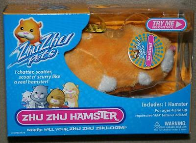 Zhu Zhu Pets Hamster Retired Sealed and Minty NUGGET Golden Original