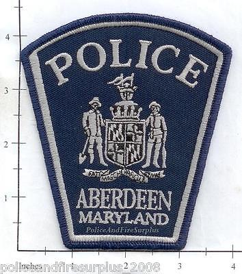 Maryland - Aberdeen MD Police Dept Patch