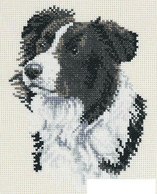 Border Collie - Cross Stitch Chart - Free Postage