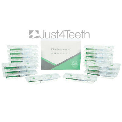 4 Syringes OPALESCENCE PF 20% MINT Teeth Whitening Gel, EXP 09/2020