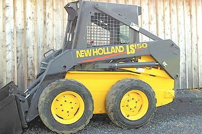 Newholland LS 150 LS150 Decal sticker kit USA Made quality kit New Holland