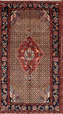 Excellent Condition 5x9 Koliaie Hamedan Persian Area Rug Oriental Wool Carpet