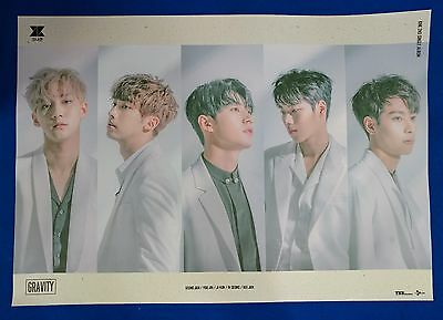 KNK - Gravity Official Unfolded Posters New K-POP