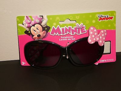 """Brand New~Girls Disney """"minnie Mouse"""" Sunglasses(100% Uv Protection)Ages 3+"""