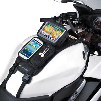 Nelson Rigg NEW CL-GPS Journey Mate Strap On GPS Motorcycle Road Bike Tank Bag