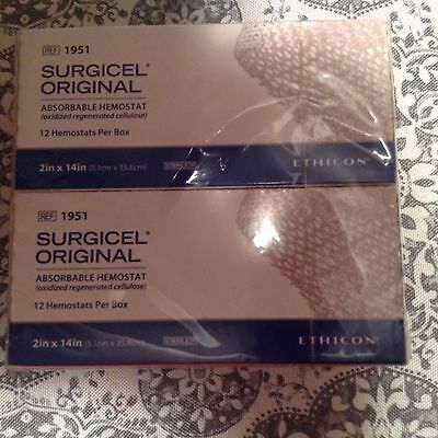Surgicel absorbable he stat 1951 exp. 2021/07