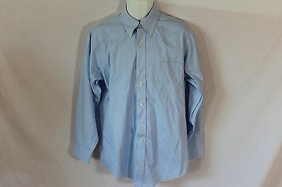 Men's Blue Brooks Brothers Button Down Dress Shirt - Size 15.5 2/3