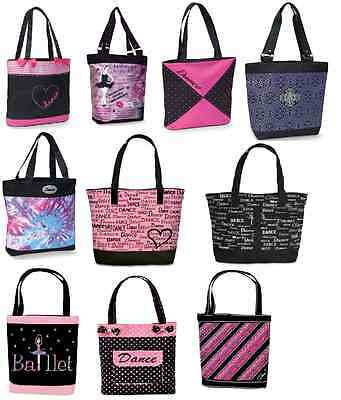 NEW Dance Bag Tote LOTS OF SIZES 2-8 SHOES Ballet Tap Jazz Hip Hop Pointe